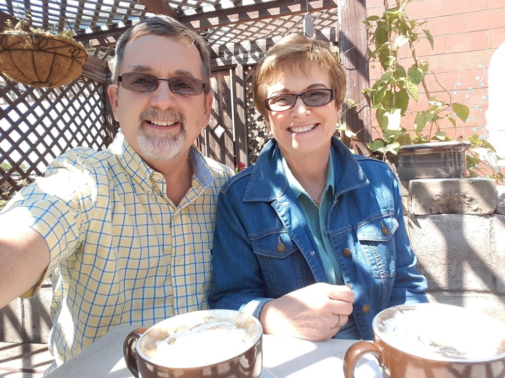 A great cup of Coffee along lake Huron - Meet Dr m
